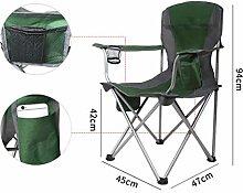 SCJ Klappstuhl Camping Mit Getränkehalter Und