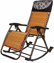 SCJ Schaukelstühle Patio Lounge Recliner für