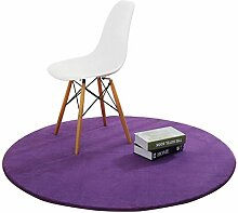 SCJ Teppiche runden Teppich dicken rutschfesten