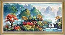 SCJ Wandmalereien im chinesischen Stil abstrakte