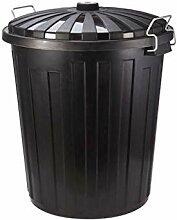 SCJS Kunststoff-Mülleimer für den Außenbereich