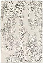 Scottie Grauer Übergangs-Teppich 61 x 91 cm