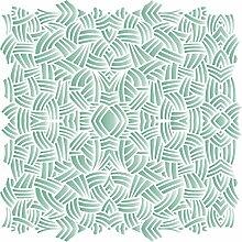 Scribble Muster Schablone-wiederverwendbar