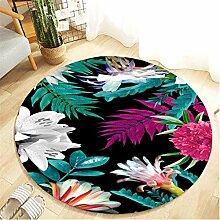 Scrolor Zuhause Teppich Runde Bodenmatte