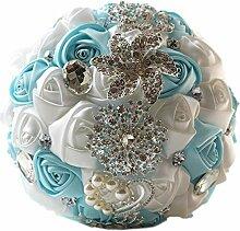 Scrox. 1 Stück Blumenstrauß Hochzeit Brosche