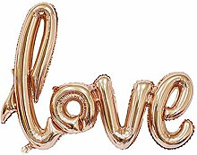 Scrox 1x Romantische Luftballons Love Brief