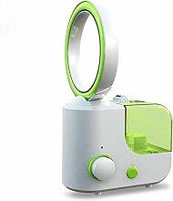 SCZLSYL Haushaltsbefeuchter Luftbefeuchter Luftreiniger Mini-Ventilator Luftbefeuchter , green
