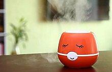 SCZLSYL usb großer Nebel Luftbefeuchter Cartoon negative Ionen Luftbefeuchter , coffee color