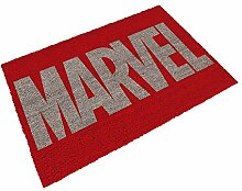 SD Toys Fußmatte mit Motiv Marvel Logo,