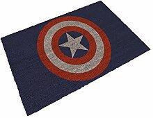 SD Toys Marvel Fußmatte Design Wappen Capitan