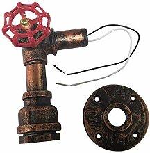 sdd Antike Metall Wasserpfeife Wandlampen,