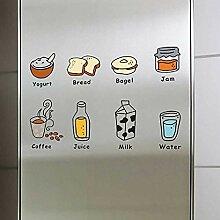 SDFGH Kühlschrank-Aufkleber Mit Dreifacher