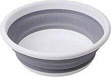 SDFGS Zusammenklappbares Waschbecken Durchmesser: