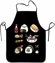sdfgsdhffer Adjustable Apron for Cooking Grill