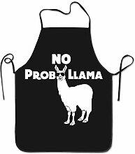 sdfgsdhffer Alpaca No Prob Llama Aprons Bib Adult
