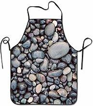 sdfgsdhffer Beach Cobblestone Stones Aprons Bib