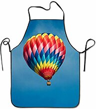 sdfgsdhffer Hot Air Balloon Aprons Bib Adult Lace