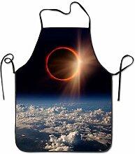 sdfgsdhffer Space Solar Eclipse.JPEG Aprons Bib