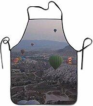 sdfgsdhffer Turkey Hot Air Balloon Aprons Bib