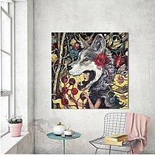 SDFSD Kreative Werwolf Märchen Wandkunst Malerei