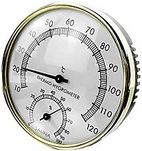 sdgfd 2 In 1 Sauna Hygrothermograph Thermometer
