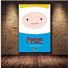 SDGW Abenteuerzeit Mit Finn Und Jake Wandkunst