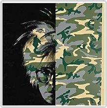 SDGW Andy Warhol 《Camouflage Selbstporträt》