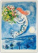 SDGW Marc Chagall 《Frankreich Nizza Soleil