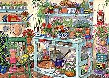 SDHJMT 1000 Stück Puzzle Topf Garten Puzzle