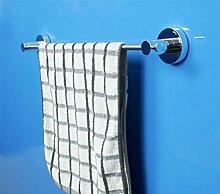 SDKIR-Aluminium Badezimmer Handtuchhalter Badezimmer Zubehör Handtuchhalter He falten Becherhalter