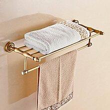 SDKIR-Antike feste Handtuchhalter im Badezimmer Zubehör Handtuchhalter Handtuchhalter im kontinentalen Stil