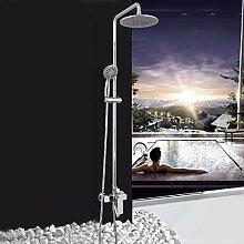 SDKIR-Badezimmer, alle Kupfer eingerichtet Dusche Dusche, die Dusche Spalte verdeckt Dusche Wasserhahn Dusche