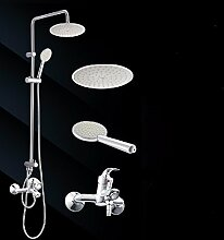 SDKIR-Badezimmer, Dusche Dusche, alle Kupfer Wasserhahn, Dusche dusche Dusche, an der Wand angebrachte Dusche, D
