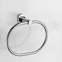 SDKIR-Badezimmer Zubehör Handtuchring Handtuchhalter Regal runde Handtuchring