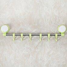 SDKIR-Edelstahl der Einhebelsteuerung Badezimmer Gestellen gehangen Leistungsstarke cupule nahtlose 6-Gig-multifunktionale Küche Handtuchhalter