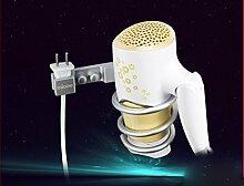 SDKIR-Handtuchhalter raum Aluminium Regal Handtuchhalter Badezimmer Handtuchhalter klappbarer Metall Anhänger, E