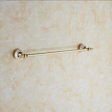 SDKIR-Im europäischen Stil Badezimmer Handtuchhalter Badezimmer Handtuchhalter Kupfer