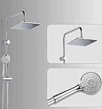 SDKIR-Kupfer, Badezimmer, Dusche, Dusche, quadratische Dach Spray, an der Wand montierten Badezimmer Badezimmer Se
