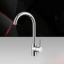 SDKIR-Kupfer Küche Wasserhahn Armatur Waschbecken Wasserhahn heißen und kalten Wasserhahn raffiniertes Kupfer Waschbecken Wasserhahn