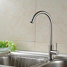 SDKIR-Kupfer Küche Wasserhahn_Kupfer Sanitär Küche Wasserhahn kann das Gemüse Waschbecken, Waschbecken Wasserhahn drehen