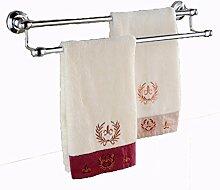 SDKIR-Massiv Messing accessoires badezimmer Badezimmer Badezimmer Handtuchhalter doppel Handtuchhalter