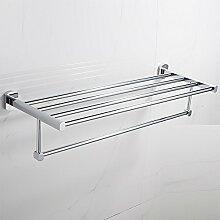 SDKIR-Messing Handtuchhalter Badezimmer Regal Badezimmer Handtuchhalter