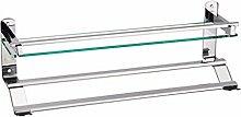 SDKIR-Palettenregal Single Layer Glas Bad Regal