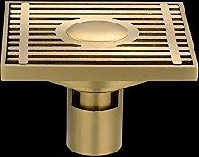 SDKIR-Sanitär Hardware Zubehör_Kupferstreifen gegen Verstopfung wc Bodenablauf drainage Plumbing Hardware, Gerade Stange