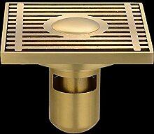 SDKIR-Sanitär Hardware Zubehör_Kupferstreifen gegen Verstopfung wc Bodenablauf drainage Plumbing Hardware, Doppelbelegung