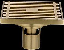 SDKIR-Sanitär Hardware Zubehör_Kupferstreifen gegen Verstopfung wc Bodenablauf drainage Plumbing Hardware, Gerade