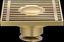 SDKIR-Sanitär Hardware Zubehör_Kupferstreifen gegen Verstopfung wc Bodenablauf drainage Plumbing Hardware, 10*10 zm 8002
