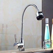 SDKIR-Sanitär universal Tipp t-Legierung heiße und kalte Waschbecken Armaturen Küchenarmatur