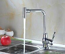 SDKIR-Südliche sanitär Sanitär Küche einzelnen Hebel Einlochmontage Waschbecken wasserhahn Qualität Kupfer Kühlkörper Wasserhahn