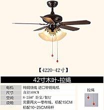 SDKKY das restaurant fan lichter, ventilator retro